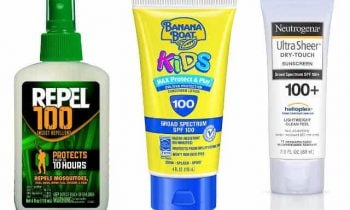 Sunscreen and Bug Spray